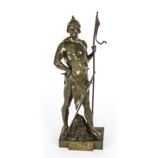 Antique Bronze Mythological Warrior