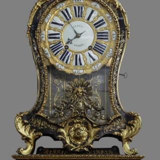 Louis XV Tortoiseshell Boulle Clock with Bracket