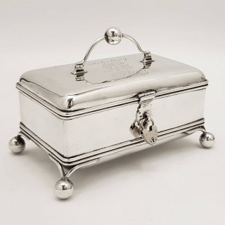 Antique Russian Silver Box