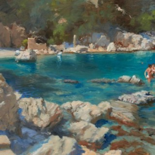 'Pelion, Damouchari Beach' by Michael Alford