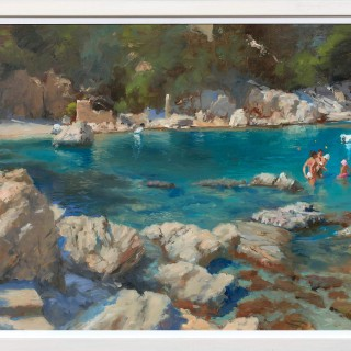 'Pelion, Damouchari Beach' by Michael Alford