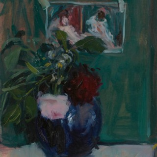 'Still life with Manet' by Serena Rowe