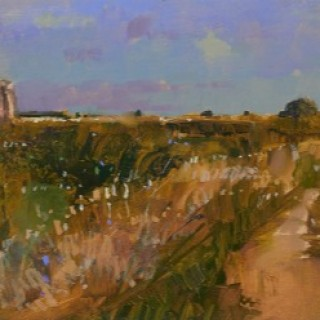 'Path Towards St Benet's Abbey' by David Sawyer