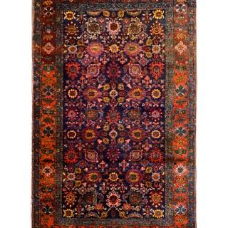 Handmade Antique Persian Bidjar Rug- 140x204cm