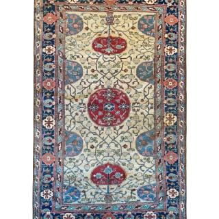 Handmade Antique Central Asian, Khotan Rug- 112x174cm