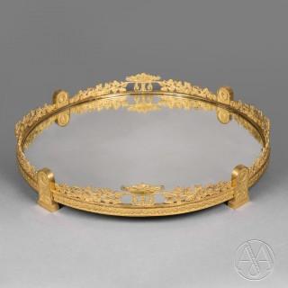A Fine Napoleon III Gilt-Bronze Surtout-De-Table