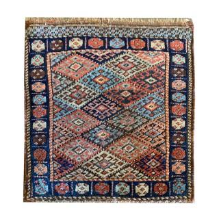 Handmade Small Persian Wool Rug - 56x60cm