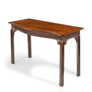 A George III mahogany side table