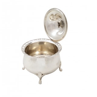 Antique Sterling Silver Caddy 1921