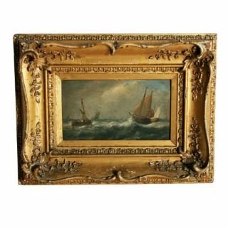 Oil Painting on Board Signed John Wilson