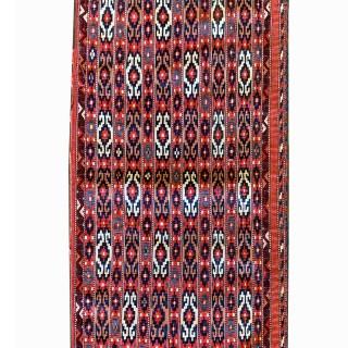 Antique Handwoven Persian Wool Qashqai Rug - 66x130cm