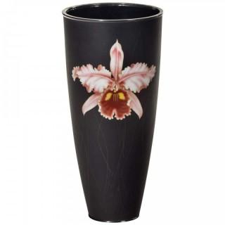 Stylish Showa Period Cloisonné Enamel Beaker Vase by Ando