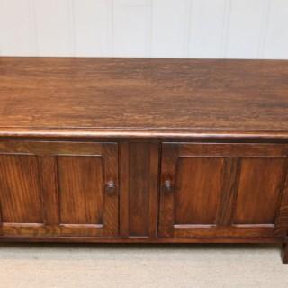 Low Oak Cabinet