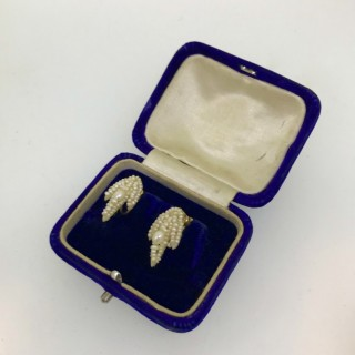 Seed Pearl Earrings