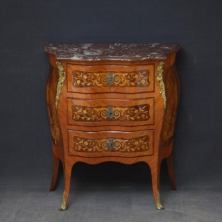 Turn of the Century Bombe Chest of Drawers