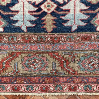 Antique Bakshaish carpet