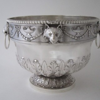 Antique Victorian Sterling Silver Bowl - 1899