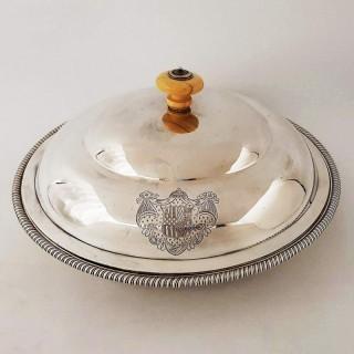 George III Entrée Dish by Paul Storr