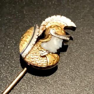 Pierre Gavard Gold Stick Pin