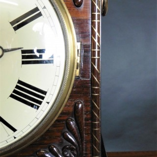 Georgian Rosewood Bracket Clock by John Grant, London