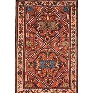 Handmade Antique kilim Caucasian, 1920- 178x395cm
