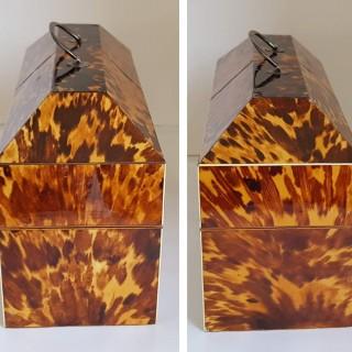 George II Silver Caddies In A Box