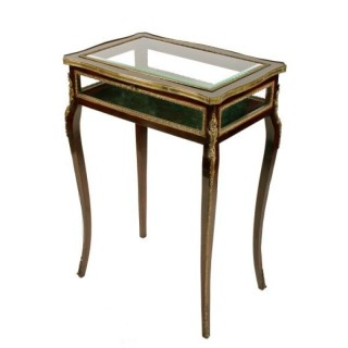 Mahogany & Gilt Brass Bijouterie Table