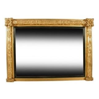 George IV Giltwood Overmantel Mirror
