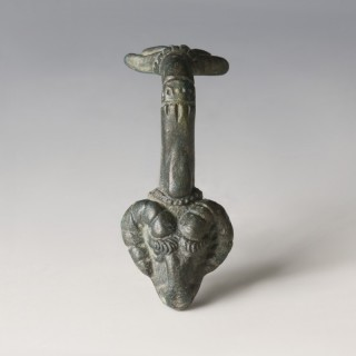 Roman Ram's Head Vessel Handle