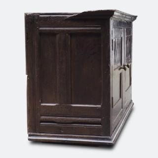Mid-18th Century Wall-Mounted Century Georgian Food Cupboard