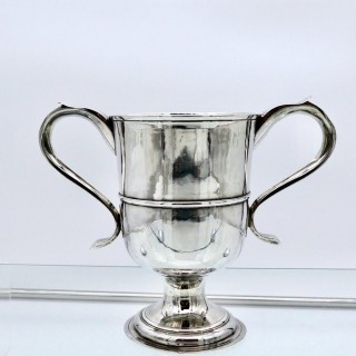 Antique George III Sterling Silver Cup Newcastle 1796 John Langlands II