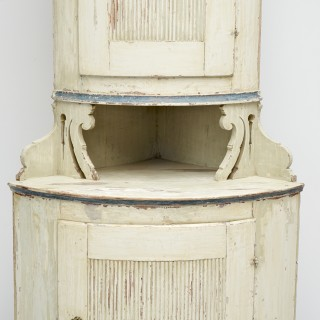 Swedish Corner Cupboard