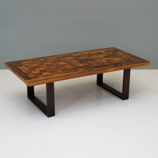 Rosewood Coffee Table by Poul Cadovius