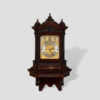A Remarkable Carved Bracket Clock