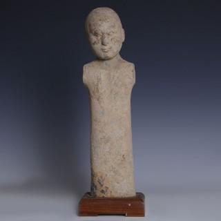 Han Dynasty Pottery Stick Figure