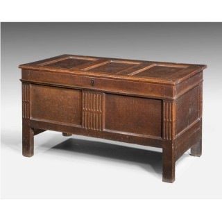 Early 18th Century Panelled Kist Coffer