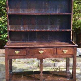 George III Oak Dresser