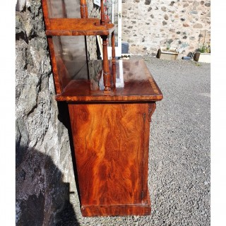 Superb Flame Mahogany Chiffioner by W & C Wilkinson, London