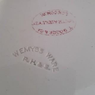 Rare Scottish Wemyss Tankard in Red Clovers