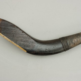 Antique Long Nose Golf Club, Putter By W. Park Of Musselburgh