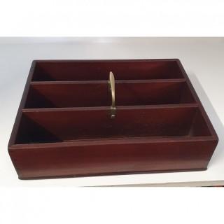 18th Century Cuban Mahogany Cutlery Tray
