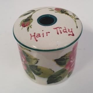 Rare Scottish Wemyss Wee Hair Tidy Pot