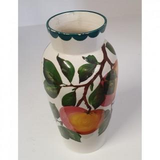 Early Scottish Wemyss Apples Japan Vase