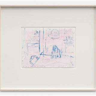 And He was gone - The ashes room, 2020 by Tracey Emin