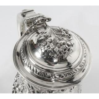Antique George III Silver Tankard London by John Swift 1763 18th Century