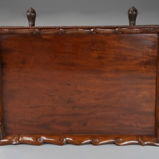 Early 19th century Regency Gillows mahogany work table of superb quality