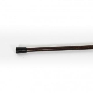 Antique Edwardian Sterling Silver & Malacca Walking Stick 925 Cane C1910