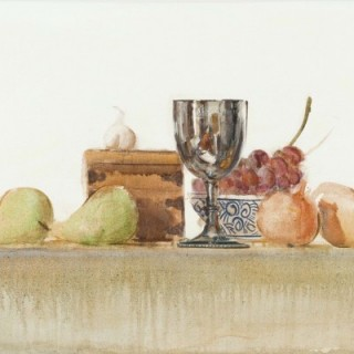 Still Life With Cup & Pears, Robert McKellar (1945 - 2009)