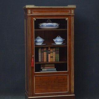 Turn of The Century French Bookcase / Vitrine