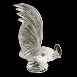 Lalique Cockerel Car Mascot